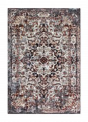 Vloerkleed 155 x 230 cm (wilton) - Shiraz Medallion (rust)