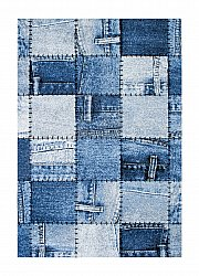 Wilton - Indigo Denim Patch (blauw)