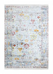 Vloerkleed 200 x 290 cm (wilton) - Colourful Frame (multi)