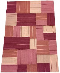 Patchwork - Superior new wool Patchwork (roze)