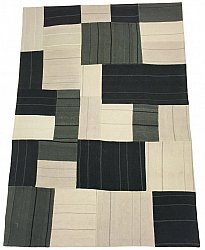 Patchwork - Superior new wool Patchwork (grijs)