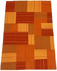Patchwork - Superior new wool Patchwork (oranje)