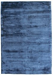 Viscose-vloerkleed - Grace Special Luxury Edition (blauw)