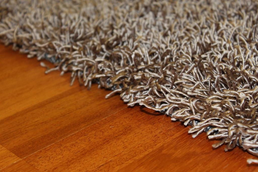 Hoogpolig vloerkleed - Fancy (bruin/beige) - Hoogpolige vloerkleden ...